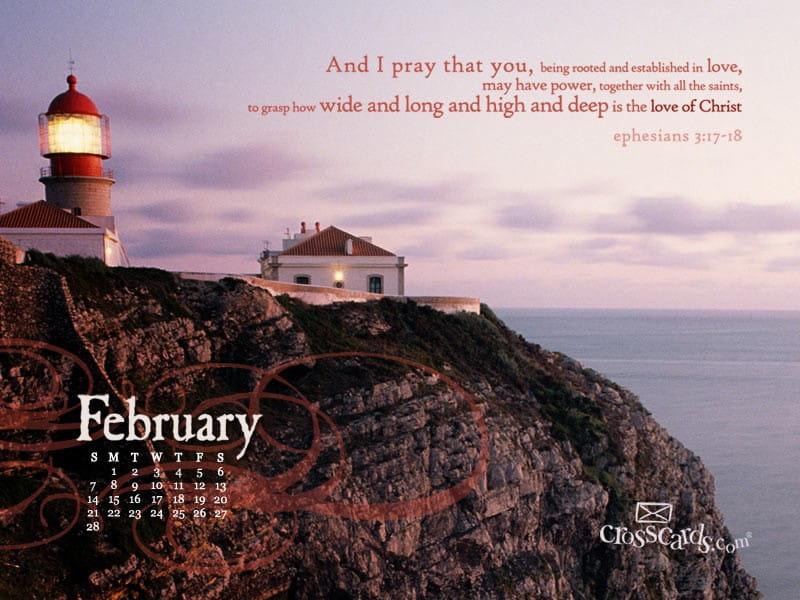 February 2010 - Lighthouse mobile phone wallpaper