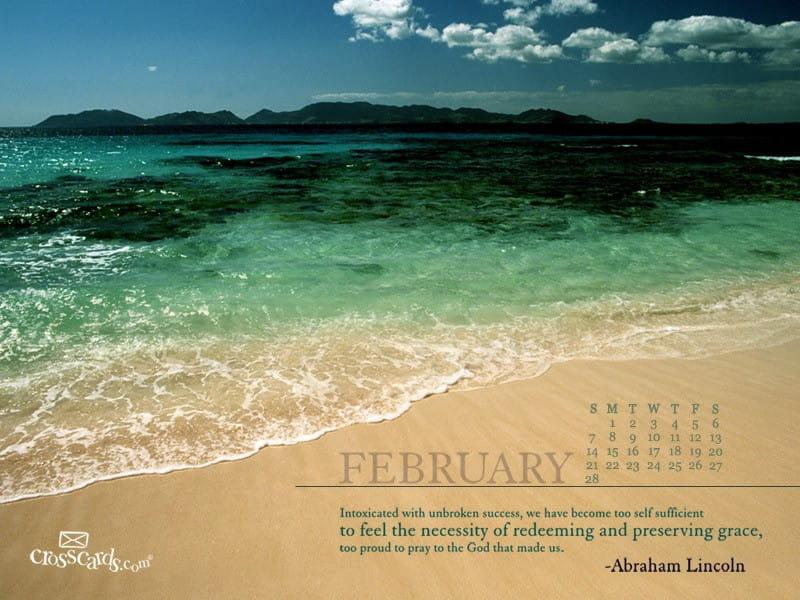 February 2010 - Lincoln mobile phone wallpaper