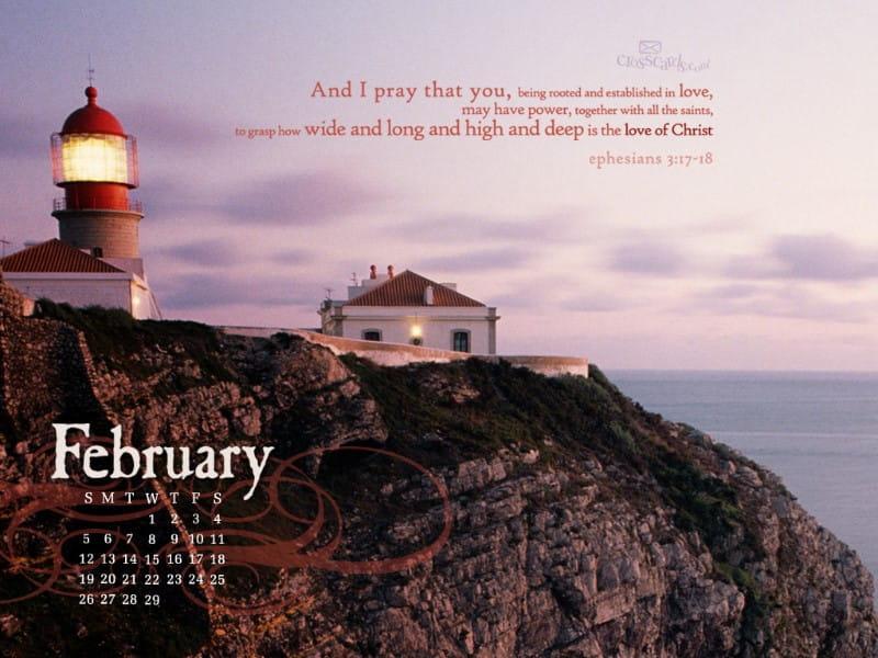 Feb 2012 - Lighthouse mobile phone wallpaper