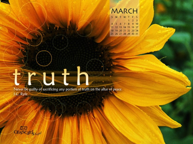 March 2012 - Truth mobile phone wallpaper