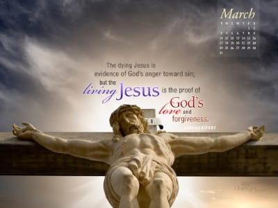 March 2013 - Living Jesus mobile phone wallpaper
