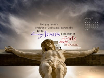 April 2012 - Living Jesus mobile phone wallpaper