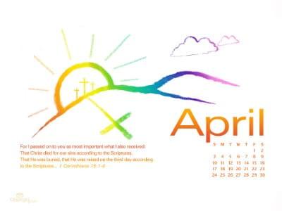 April 2011 - Buried & Raised mobile phone wallpaper