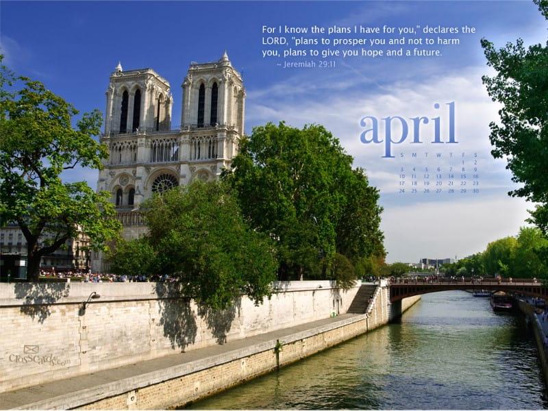 April 2011 - Jeremiah 29:11 mobile phone wallpaper