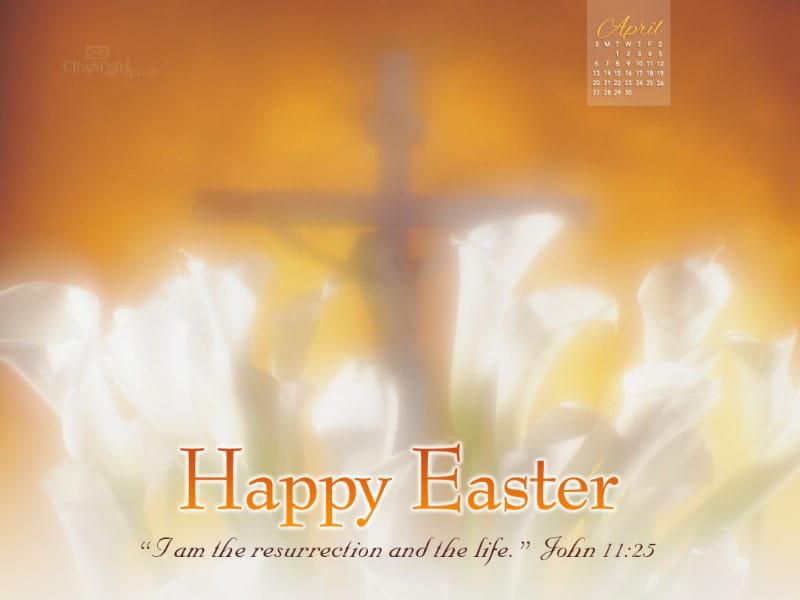 April 2014 - Resurrection mobile phone wallpaper