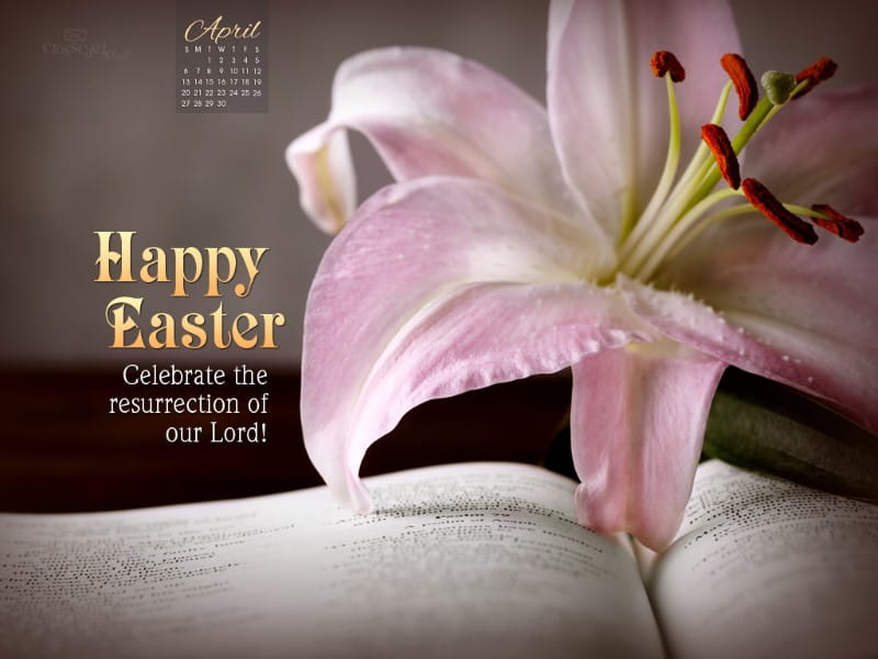 April 2014 - Happy Easter mobile phone wallpaper