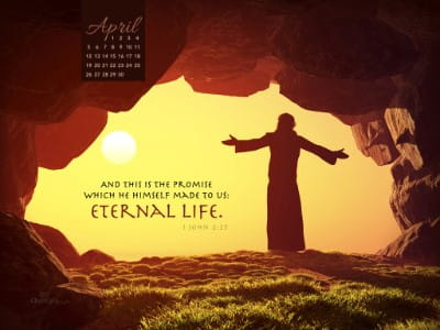 April 2015 - Eternal Life mobile phone wallpaper