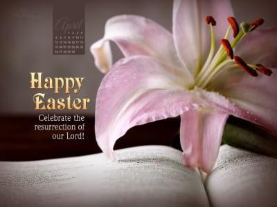 April 2015 - Happy Easter mobile phone wallpaper