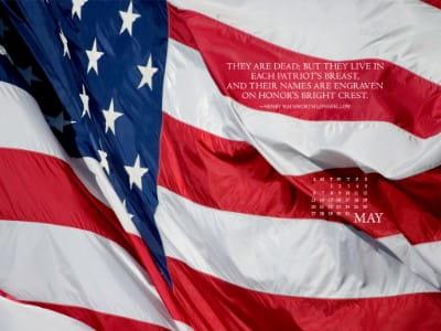 May 2012 - Patriot mobile phone wallpaper