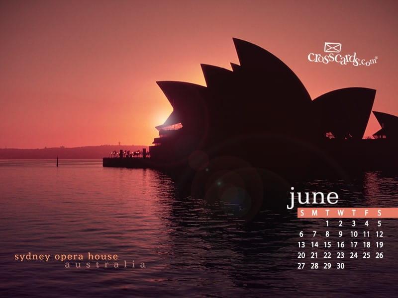 June 2010 - Sydney mobile phone wallpaper
