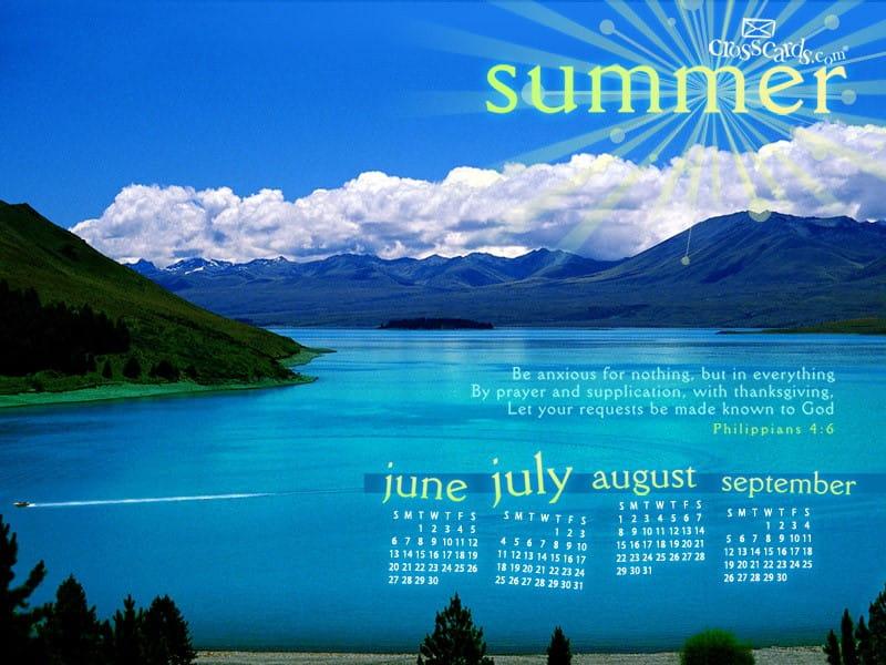 Summer 2010 mobile phone wallpaper