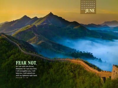 June 2014 - Great Wall mobile phone wallpaper