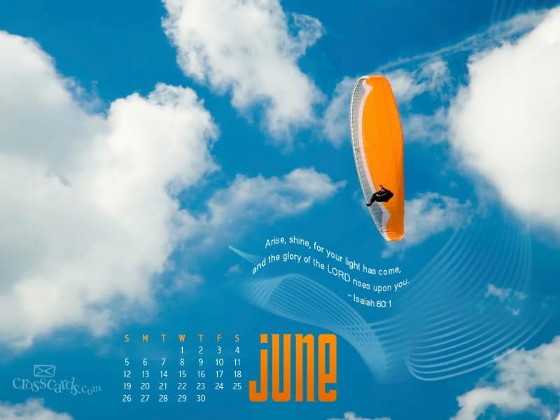 June 2011 - Isaiah 60:1 mobile phone wallpaper