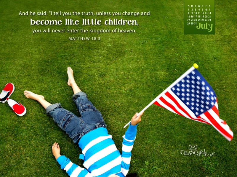 July 2012 - Little Children mobile phone wallpaper