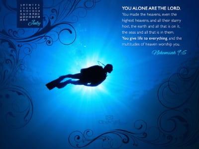 July 2012 - Neh 9:6 mobile phone wallpaper