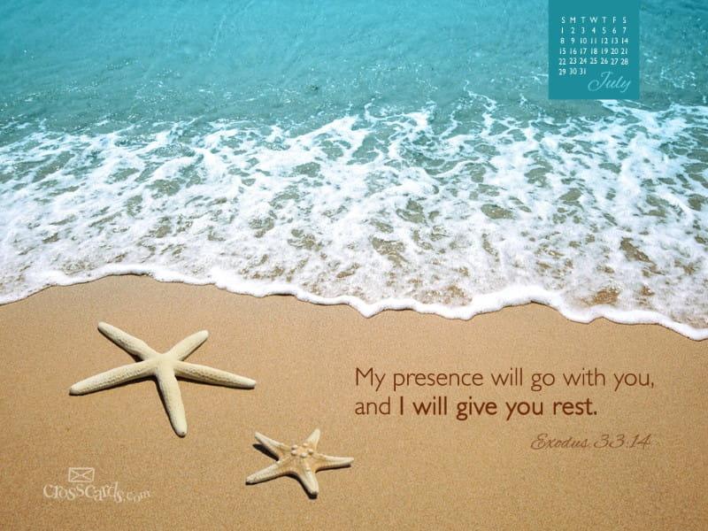 July 2012 - Give You Rest mobile phone wallpaper