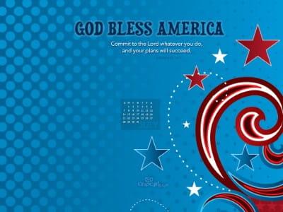 July 2013 - God Bless mobile phone wallpaper