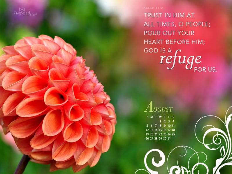 August 2012 - Refuge mobile phone wallpaper
