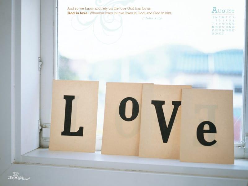 August 2011 - Love mobile phone wallpaper