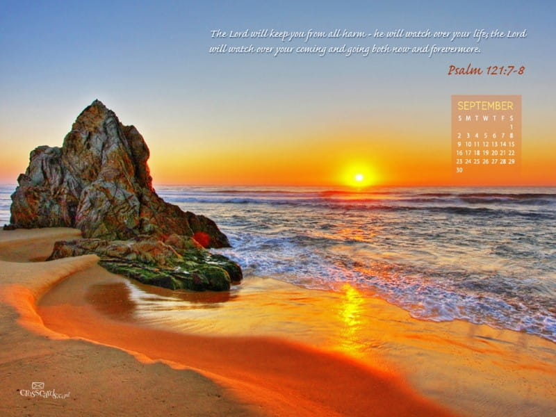 Sept. 2012 - Psalm 121 mobile phone wallpaper