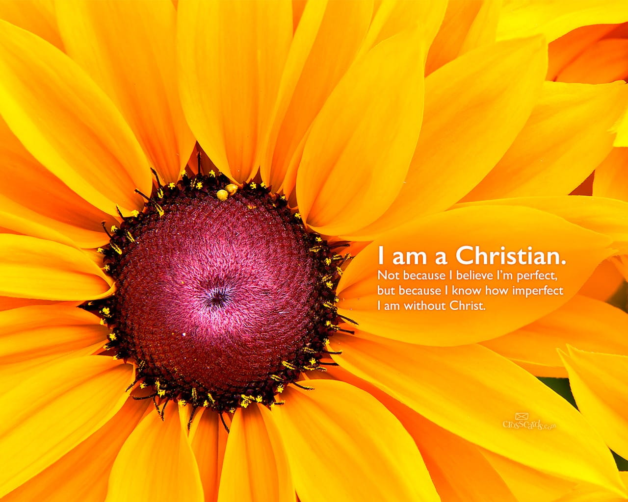 I am a christian wallpaper free flowers desktop backgrounds - Crosscards christian wallpaper ...