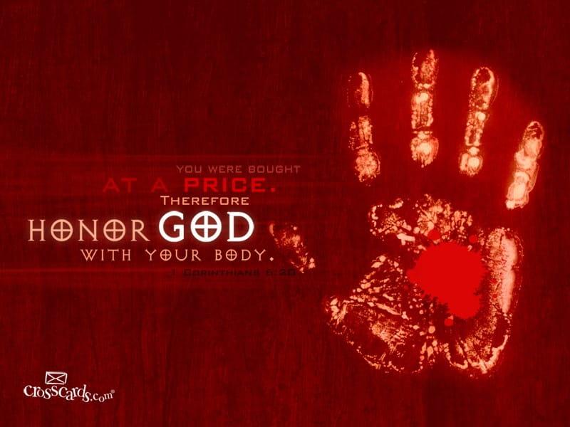 Honor God mobile phone wallpaper