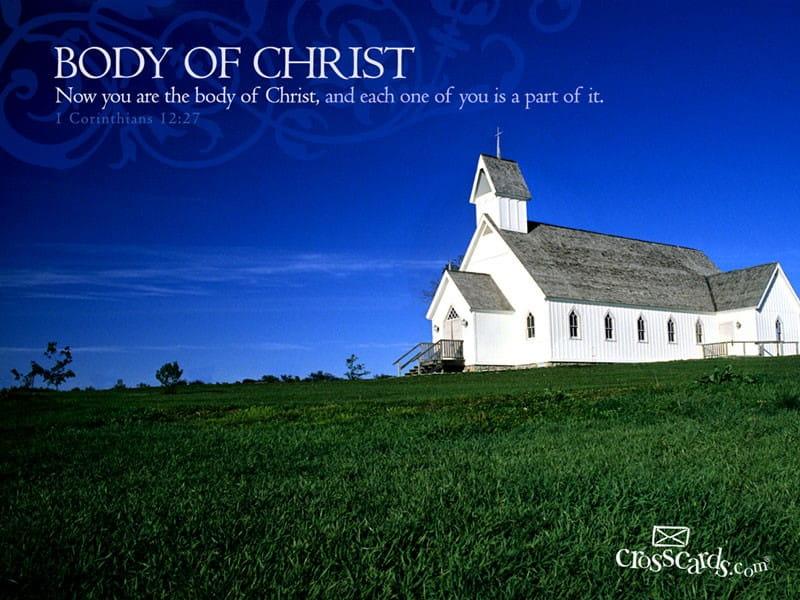 Body of Christ mobile phone wallpaper