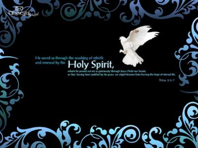 The Holy Spirit Bible Verses And Scripture Wallpaper For Phone Or Computer