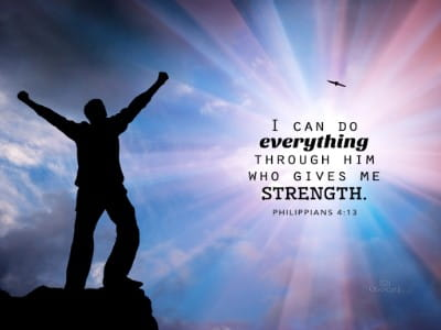 Philippians 44 Strength Bible Verses And Scripture Wallpaper