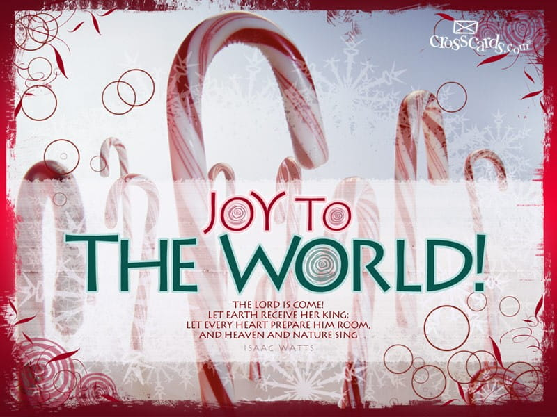 Joy to the World mobile phone wallpaper