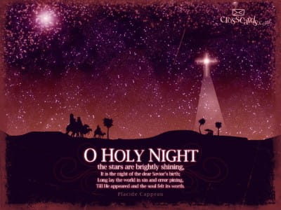 O Holy Night mobile phone wallpaper