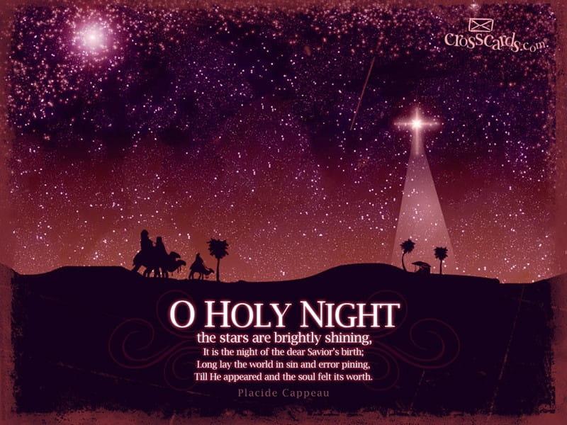 O Holy Night mobile phone wallpaper