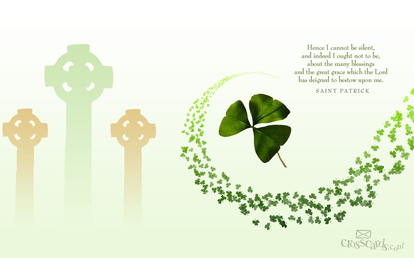 St Patrick S Day Desktop Wallpaper Free Seasons Computer And