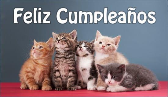 Feliz Cumpleaños ecard, online card