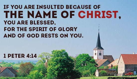 The Name of CHRIST is NOTHING to be ashamed of! ecard, online card
