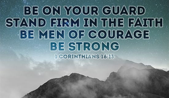 Be on your guard! ecard, online card