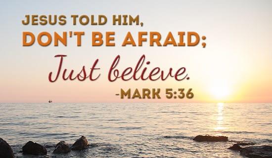 Just Believe! ecard, online card