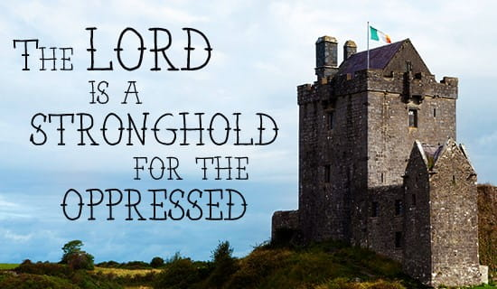 The Lord is my stronghold! ecard, online card
