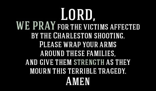 Pray for Charleston ecard, online card
