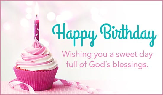 Sweet Day and God's Blessings ecard, online card