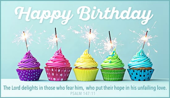 Free Birthday Psalm 14711 eCard eMail Free Personalized