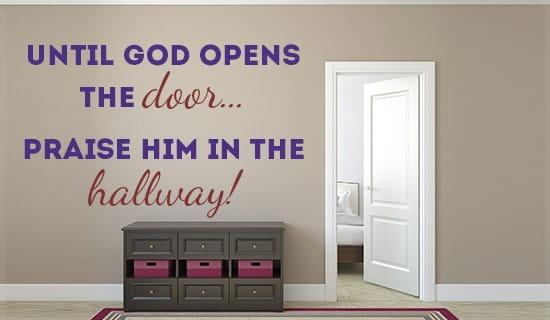 Praise him wherever you are! ecard, online card