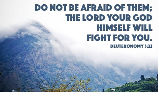 God fights for you! ecard, online card