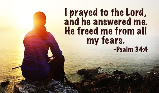 I prayed, and HE answered!! ecard, online card