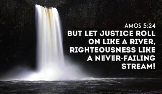 Amos 5:24 ecard, online card