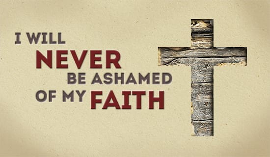 Never be ashamed! ecard, online card