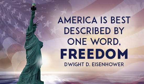 America IS Freedom ecard, online card
