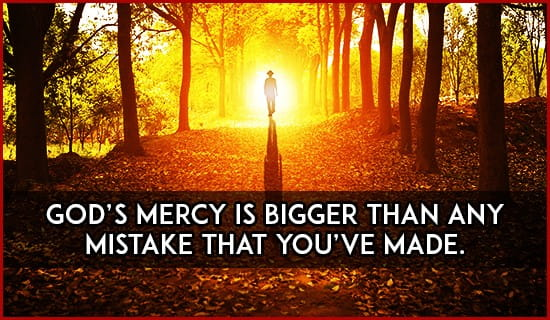 God's mercy is bigger than anything ecard, online card