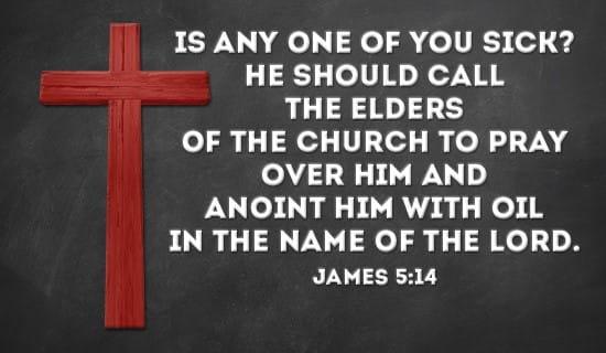James 5:14 ecard, online card