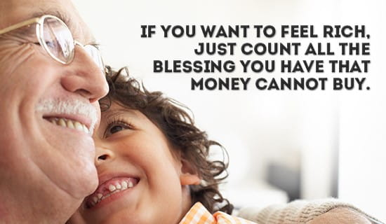 Count your blessings! ecard, online card